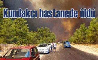 Manavgat ormanlarını yakan kundakçı, hastanede öldü