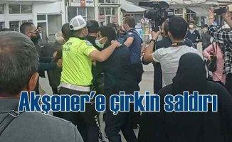 Meral Akşener'e Sivas'ta çirkin saldırı