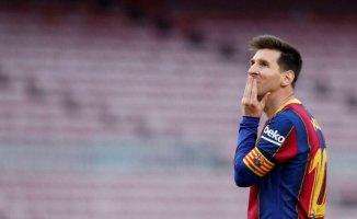 Messi Barcellona'dan resmen ayrıldı
