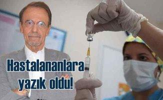 Prof. Dr. Ceyhan   Hastalananlara yazık oldu