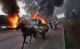 Taliban Şıbırgan ve Mezar-ı Şerif'te evleri ateşe verdi
