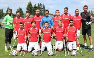 Ampute Futbol Milli Takım'dan 10-0'lık galibiyet