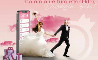Hem modern hem de geleneksel Dijital etkinlik planlayıcısı | bolomio