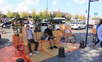İstanbul'da yayalar ve bisikletlilere özel durak