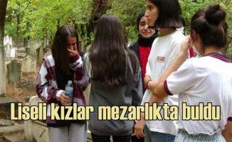 Liseli kızlar buldu | 2 günlük bebeği diri diri gömmüşler