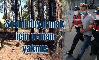 Manavgat'ta orman yangını | Zanlıyı linçten polis kurtardı
