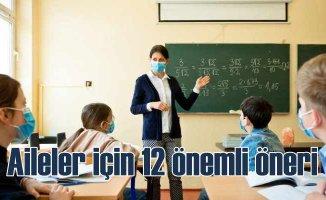 Pandemide Okula Başlayan Çocuk ve Aileler için 12 Öneri!