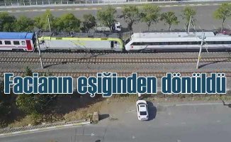 Tuzla'da tren faciasından dönüldü | YHT ile yük treni kafa kafaya geldi