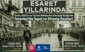 Beyoğlu ve Fatih'te tarih turu