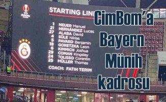 Galatasaray'a Bayern Münih kadrosunu yazdılar