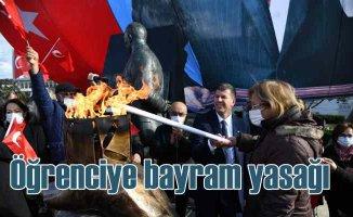 Kadıköy'de Cumhuriyet Bayramı Kutlaması'na öğrenci kısıtlaması