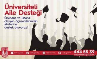Lüleburgaz | Üniversiteli gençlerin ailelerine destek