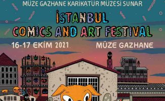 Müze Gazhane'de İstanbul Comics and Art Festival'i başlıyor