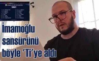 TRT'nin İmamoğlu takıntısını Şahan Gökbakar 'ti'ye aldı