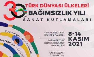 Türk Dünyası Ülkelerinin Bağımsızlık Kutlamaları İstanbul'da