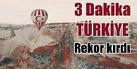 3 dakikada Türkiye izle