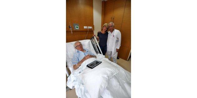 87 yaşında ilk kez geldiği Çanakkale'de Şafak Ayini'ni göremedi