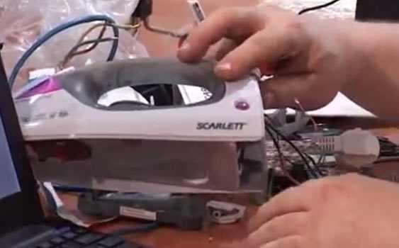 Çin malı ütülerden casus cihazı çıktı