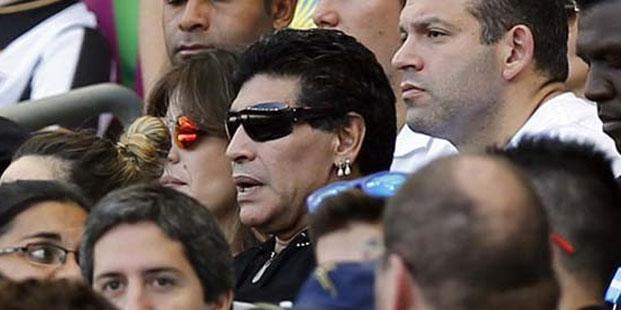 FIFA'yı eleştiren Maradona'ya artık VIP yasak