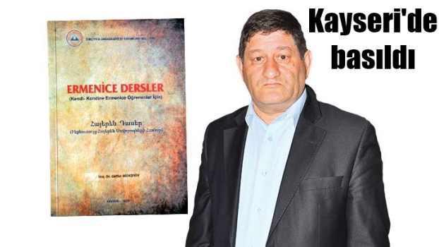 İlk Ermenice ders kitabı Kayseri'de basıldı