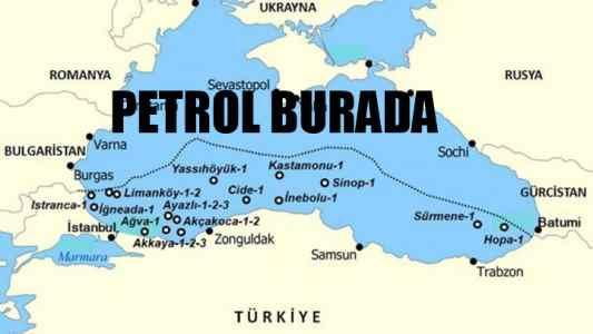Karadeniz'de petrol de var, doğal gaz da