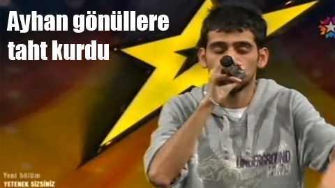 Kekeme Rapçi Ayhan Öztürk 2. turda