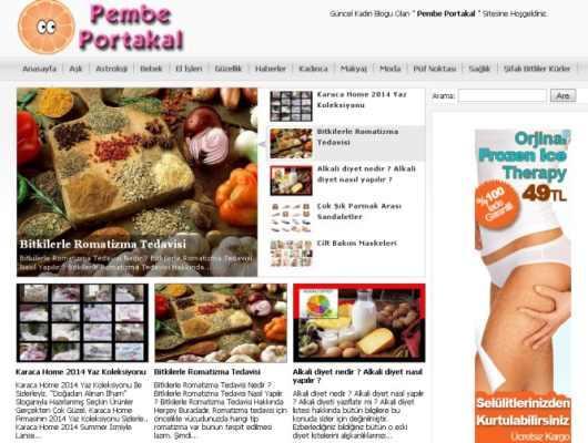 Pembe Portakal Kadın Blogu Sizlerle Buluşuyor