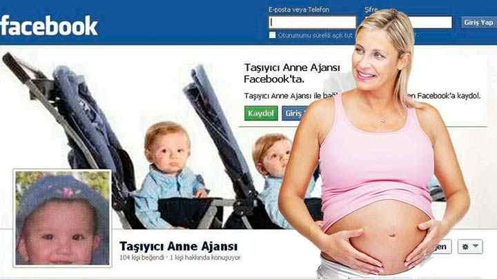 Taşıyıcı anne arayanların imdadına Facebook yetişti