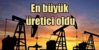 ABD dünyanın en büyük petrol üreticisi unvanını aldı