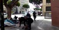 ABD polisi sokak ortasında tartıştığı bir evsizi öldürdü