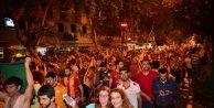 Adanada şampiyonluk kutlaması