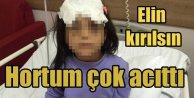 Adana'da üvey anne dehşeti; Hortum çok acıtıyor