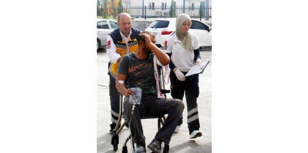 Afyonkarahisar'da acemi kasaplar hastanelere koştu