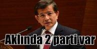 AK Partide iki ihtimalli koalisyon plânı