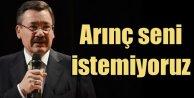 AK Partililer Arınça kazan kaldırdı: Arınç seni istemiyoruz
