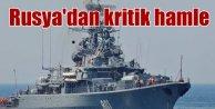 Akdeniz ısınıyor, Rusya, uçaklarını korumak için savaş gemisi gönderiyor