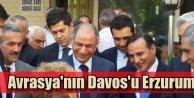 Ali Demirhan; Avrasyanın Davosu Erzurum olmalı