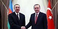 Aliyev'i karşılama töreninde 'Dombra' şarkısı (2)