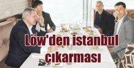 Alman Milli Takım Direktörü Löw İstanbul'da