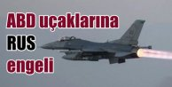 Amerikan savaş uçaklarına havada Rus engeli