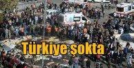 Ankara Garında patlama; Dünya flaş haber olarak geçti