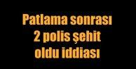 Ankarada 2 polis şehit iddiası var; Bakanın haberi yok!