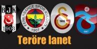 Ankarada terör eylemine 4 büyüklerden sert tepki