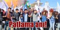 Ankaradaki patlama anı kameralarda: 20 kişi böyle can verdi