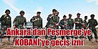 Ankaradan Peşmergeye geçiş izni çıktı