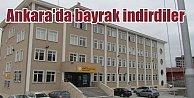 Ankaranın göbeğinde bayrak indirdiler