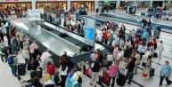 Antalyaya gelen turist sayısı yüzde 11 düştü