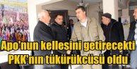 Aponun kellesini getirecekti, PKKnın tükürükçüsü oldu