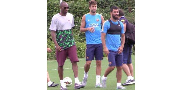 Arda Turan ile Kobe Bryant bir araya geldi