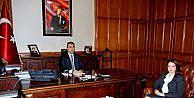 Atasoy, Vali Mustafa Toprakı Ziyaret Etti